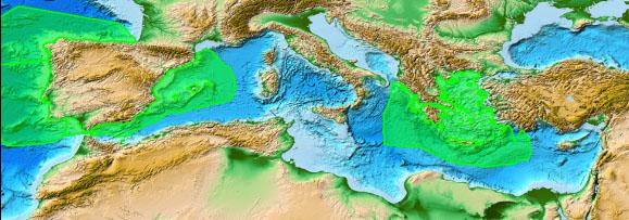 Hermodice Carunculata Mediterranean Distribution Map